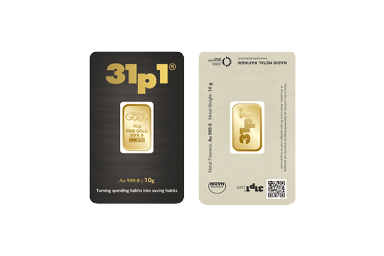 10 gram gold bar price