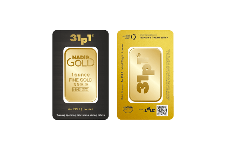 1 ounce gold bar price